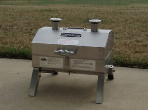 Holland Portable Propane Gas Camping Grill, No Flare-up BBQ Gril