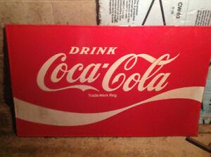 Coca Cola sign 3'x5'