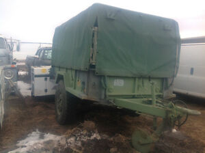 1990 14foot army utility trailer with duetz generator 10000w