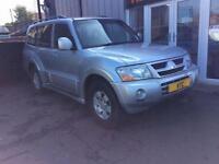 2007 56 MITSUBISHI SHOGUN 3.2 CLASSIC FIELD LWB DI-D 5D AUTO 159 BHP DIESEL