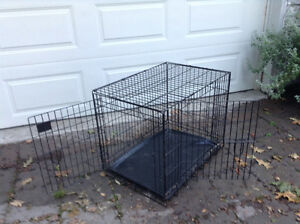 Dog crate medium sized