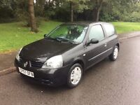 2008 Renault Clio 1.5 DCI-81,000-12 months mot-£30 a year tax-great economy