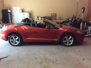 REDUCED 2007 mitsubishi eclipse  spyder