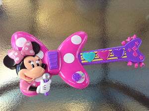 Minnie Mouse toy guitar