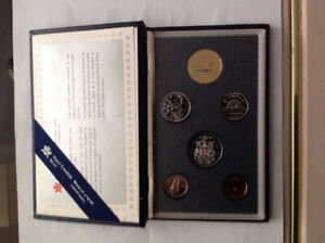 1995 Royal Canada Mint Proof 6 coin set