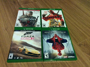 Xbox One Games Adult Owned Bought New Mint Condition