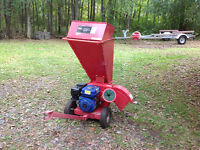 POWER WOOD CHIPPER