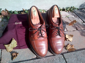 Allen Edmonds Wilbert 9 3E chili brown casual comfort shoe