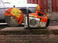Scie a beton stihl ts400 pour 400.00 prix fixe Pierre 514-609-0