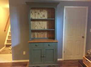 Solid Pine Hutch / Cabinet
