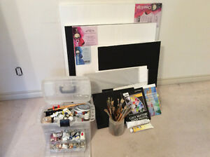 Oil painting supplies for sale