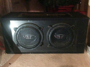 2 10inch Rockford fosgate punch subwoofers