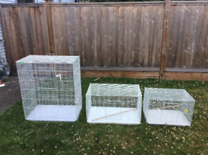 Bird Cages Assorted Sizes