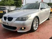 2005 BMW 535D M SPORT 3.0 TWIN TURBO AUTO 5DR TOURING 269 BHP DIESEL