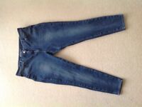 Next 360 stretch blue jeans size 18