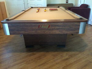 4x8 Dorset Billiard table