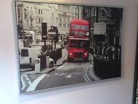 Large IKEA London Bus Picture