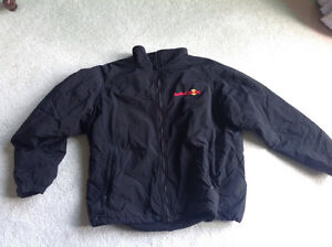 NEW JACKET... black...Fleece lined .. Size XL