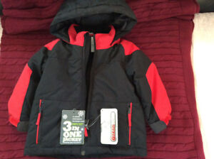 Boys or girls 18-24 month 3in1 Coat /Jacket New with tags.
