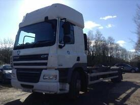 DAF CF85 360 DE-MOUNTABLE BODY. SUPER SPACE CAB.