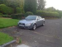 Audi Convertible 2.0 tdi 50+mpg