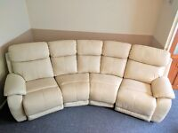 4 Seater Curved Electric Double Recliner