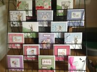 6 Tier large Wire Greeting Card Stand 30 x 30 inches suitable for CDs books etc
