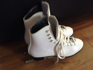 Women's White Figure Skates