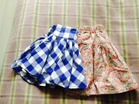 2x Skirts Joules and Boden Age 5