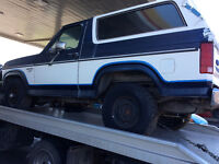 Rust free 1985 Bronco body only