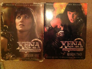 Xena Warrior Princess Seasons 1&2- $10.00 EACH