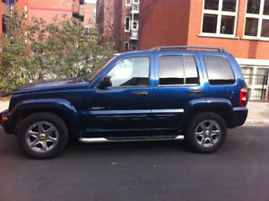 JEEP LIBERTY LIMITED 2003 , 3.7 V6 , all in ,car serviced and we