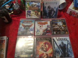 PS3 Gamecube and Wii game lot