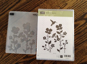 Stampin Up Wildflower Meadow Stamp and Embossing Folder London Ontario image 3
