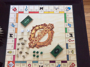 Heirloom edition monopoly