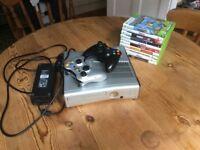 250GB HALO REACH Xbox 360 console+games