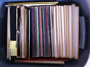 Albums + table tournante Technic