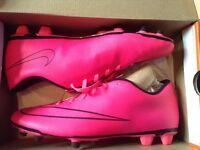 Nike mercurial Hyper pink/Black size 10