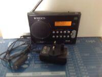 Roberts Ecologic1 Dab/FM portable Radio £40
