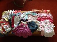 Large Baby girls 3-6 months clothes bundle