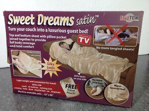 As Seen On Tv Nuvatek Sweet Dreams Satin Cambridge Kitchener Area image 1
