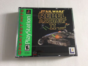 STAR WARS * Rebel Assault 2 * ~ PS One (2002) ^ Like New ^