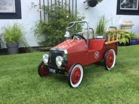 Pedal car .fire engine. £95
