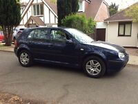 VOLKSWAGEN GOLF 1.4 MODEL 2004 60,000 MILES FULLY LOADED DONT MISS OUT AUDI SEAT SKODA