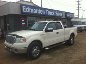 2008 FORD F-150 SUPER CAB LARIAT 4X4