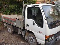 Isuzu NkR 77 turbo electric truck
