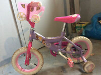 12inch girls disney princess bike