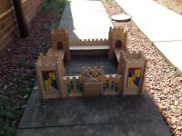Early learning centre kids wooden castle