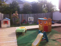 Licensed daycare ( Clayton Park) subsidy available