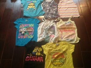 Girls size 8 tops